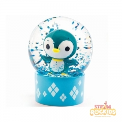 Djeco - Mini Snow Globes So Wild