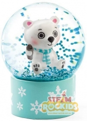 Djeco - Mini Snow Globes So Fun