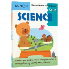 Kumon Science Sticker Activity Book K and Up