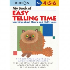 Kumon My Book of Easy Telling Time (Hours and Half-Hours)