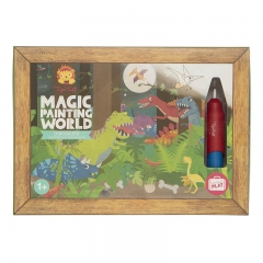 Tiger Tribe Magic Painting World (Dinosaurs)
