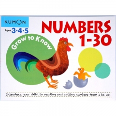 Kumon Grow to Know Numbers 1-30