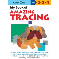 Kumon My Book of Amazing Tracing