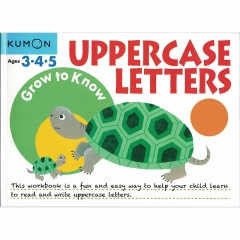 Kumon Grow to Know Uppercase Letters