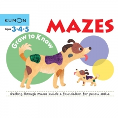 Kumon Grow to Know Mazes