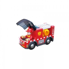 Hape Railway Fire Truck With Siren