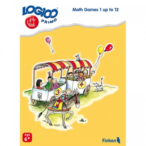 Logico Primo Math Games 1 up to 12 (Age 6+)