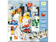 Djeco - Monster Invasion Stickers Set