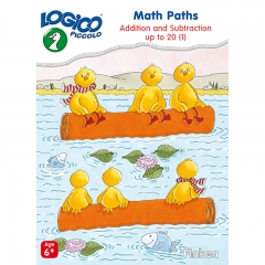Logico Piccolo Math Paths Addition and Subtraction Up to 20 Level 1 (Age 6+)