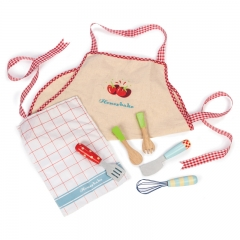 Le Toy Van Honeybake Apron and Utensil Set