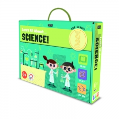 Sassi STEAM Science Book and 3D Model (DNA)