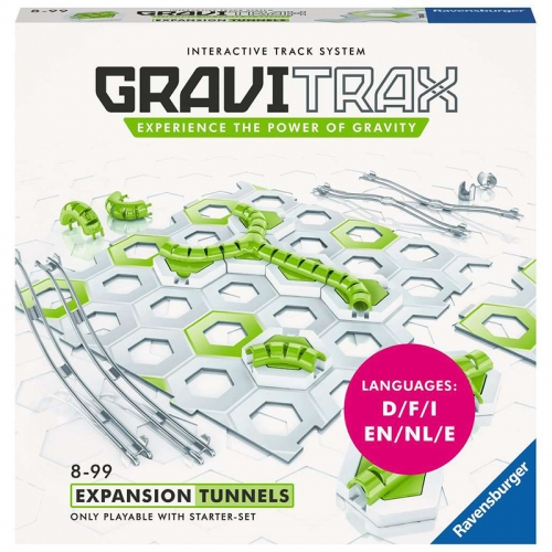 Ravensburger GraviTrax Tunnels Expansion (15 Pieces)