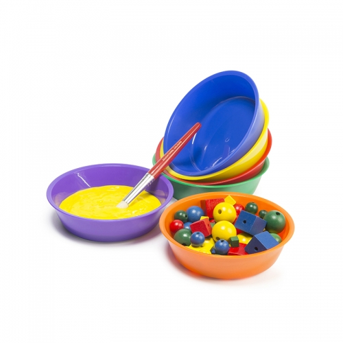 Colour Sorting Bowls 150mm Diameter (Set of 6)
