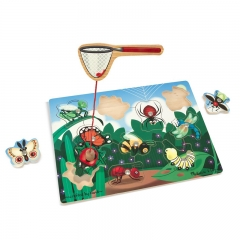 Melissa N Doug Magnetic Bug Catching Game