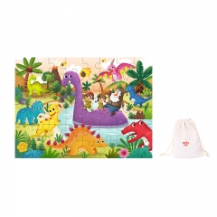 Tooky Toy Wooden Jigsaw Puzzle 48 Piece (Dinosaur)