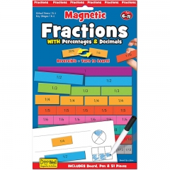 Fiesta Crafts Magnetic Activities (Fractions)