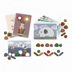 EDX Education Junior Rainbow Pebbles Activity Set (Eco-friendly FPC)