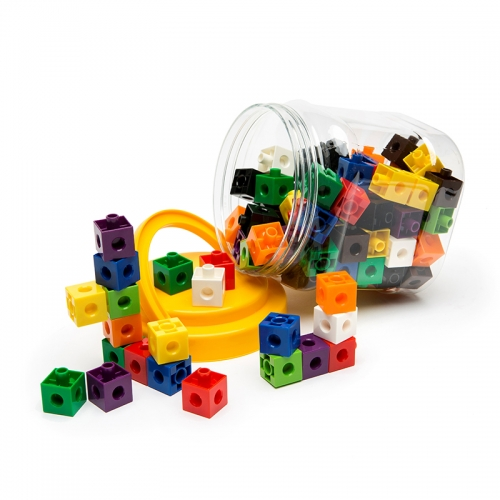 Linking Cubes (Jar of 100)