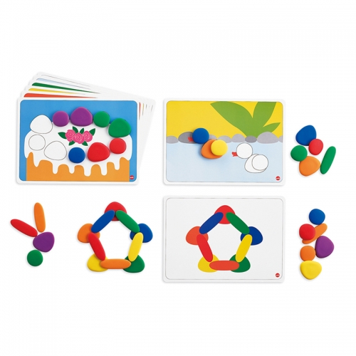 EDX Education Junior Rainbow Pebbles Activity Set
