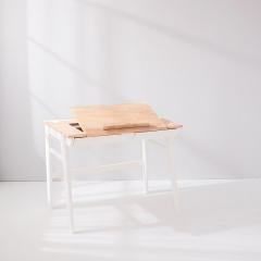 Bunny Tickles Calla Study Desk with Tiltable Easel
