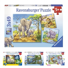 Ravensburger 3x49 pcs Jigsaw Puzzle for 5 Year+