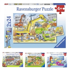 Ravensburger 2x24 pcs Jigsaw Puzzle for 4 Year+
