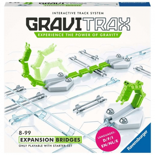 Ravensburger GraviTrax Bridges Expansion (19 Pieces)