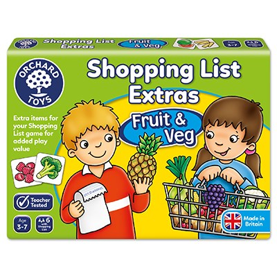 Orchard Toys Shopping List Extras (Fruit & Veg)