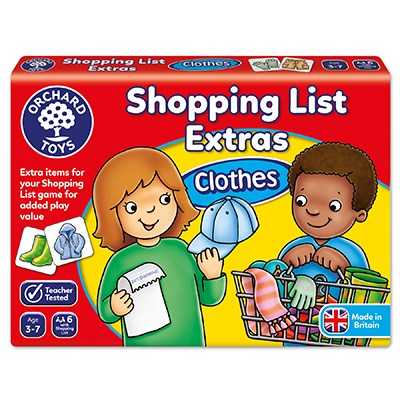 Orchard Toys Shopping List Extras (Clothes)