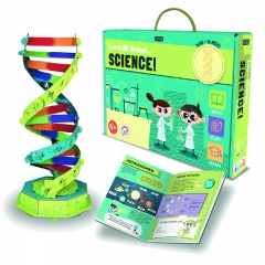 Sassi All About Science Book and 3D Model (DNA)